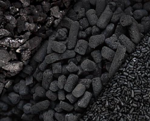تولید زغال چینی